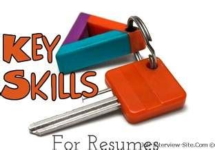 What Your Resume Skills Section Should Look Like